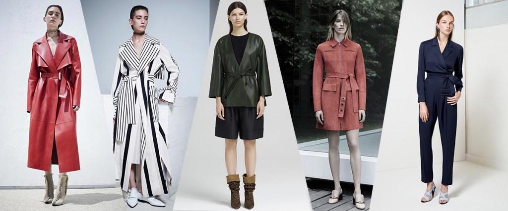 фото - Пояса-оби в моде весной 2016