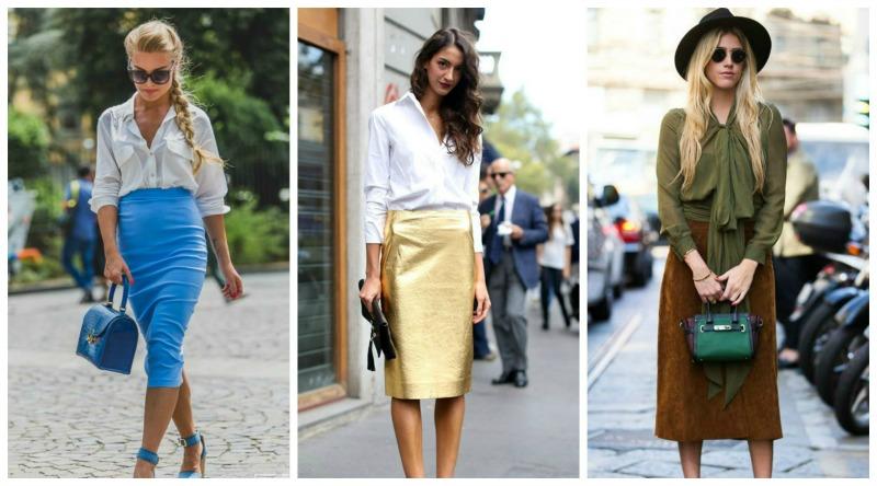 Фото - Комбинирование с классической блузкой