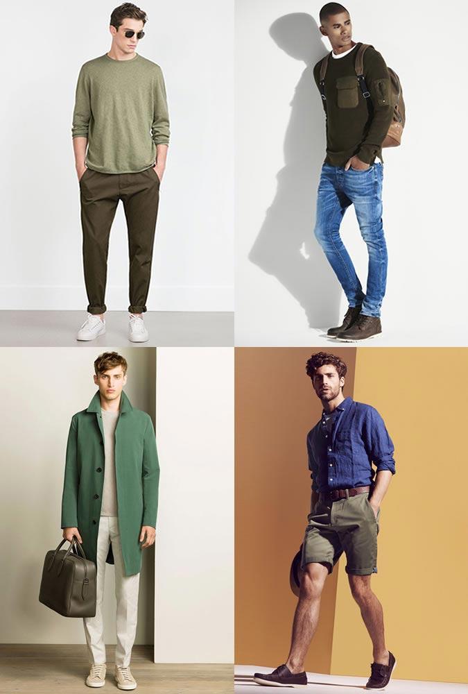 фото - тренды весна 2016: зеленый цвет