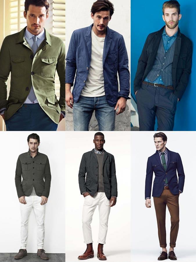 фото - джинсовый блейзер в моде весной 2017 с чем носить