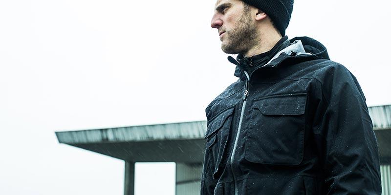 фото - весенняя мужская куртка от Aether
