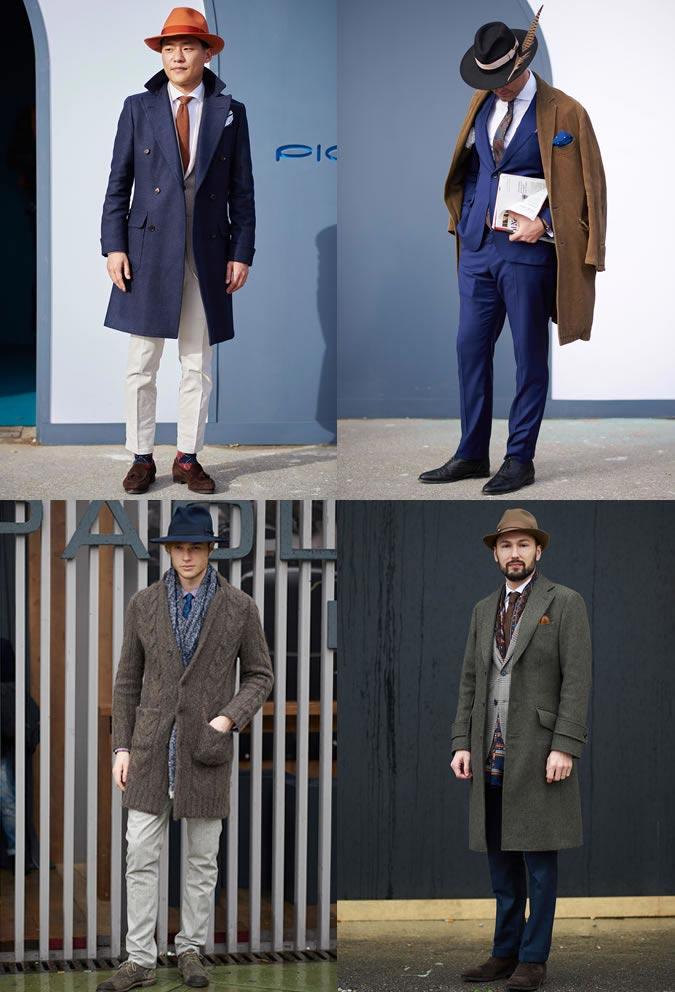 фото - стильные мужские шляпы