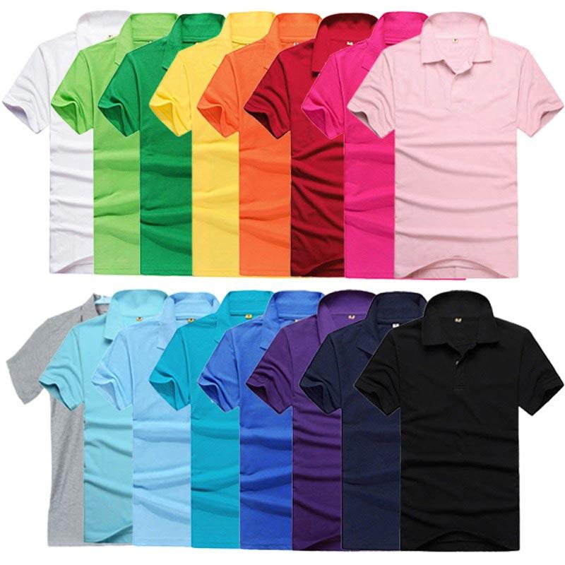 фото - разновидности оттенков рубашек поло