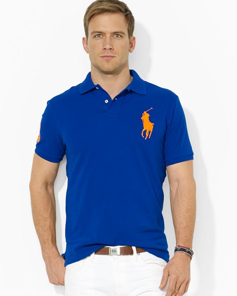 фото - Ralph Lauren рубашка-поло custom Fit