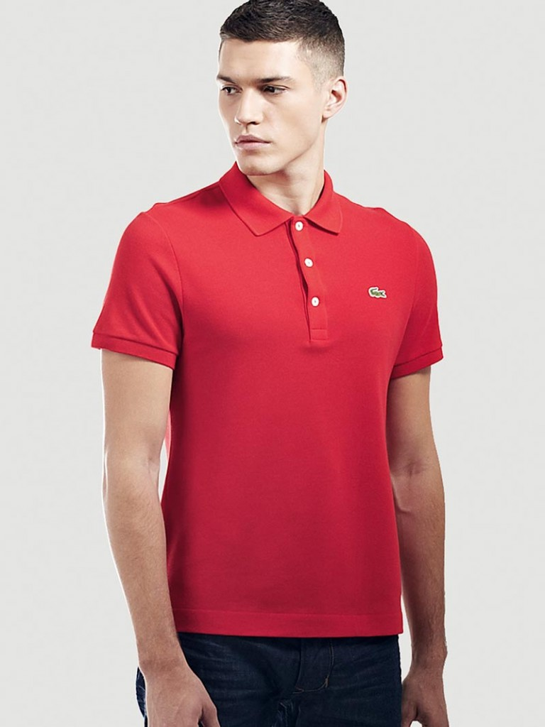 фото - Red Lacoste slim fit