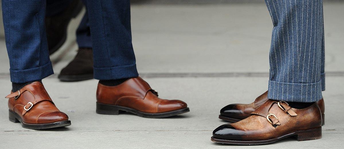 82292823 С чем носить мужские коричневые туфли