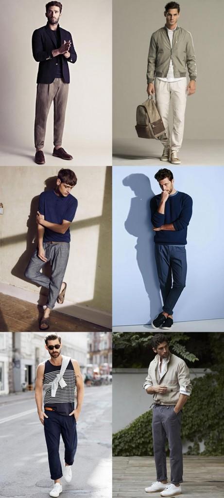 фото - просторные брюки