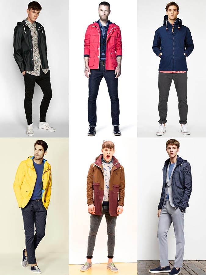 фото - модные мужские куртки из современных материалов 2016