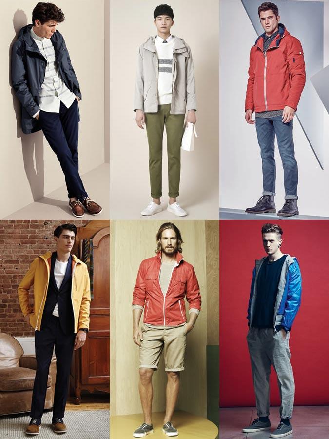 фото тенденции - мужские водонепроницаемые куртки на весну 2016