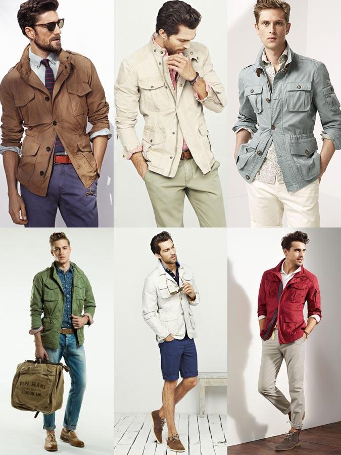 фото - лучшая мужская куртка сафари