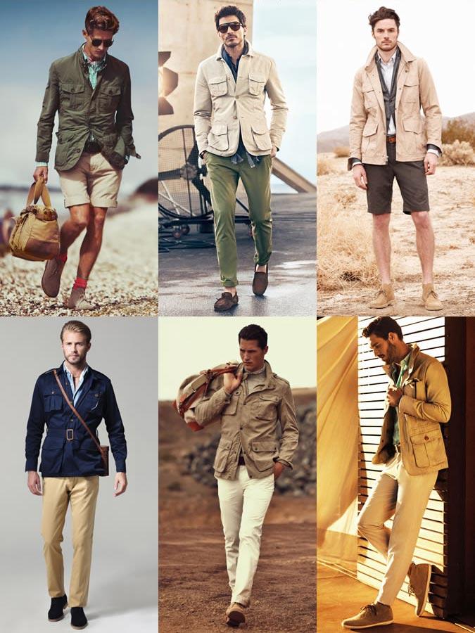 фото - модная Сафари-куртка
