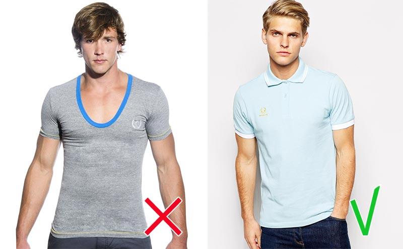 фото - ошибки мужского стиля: обтягивающие футболки