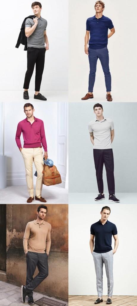 фото - мужские рубашки поло