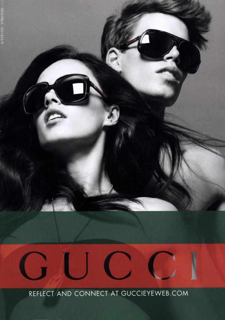 Фото - Марк Кокс в кампании Gucci