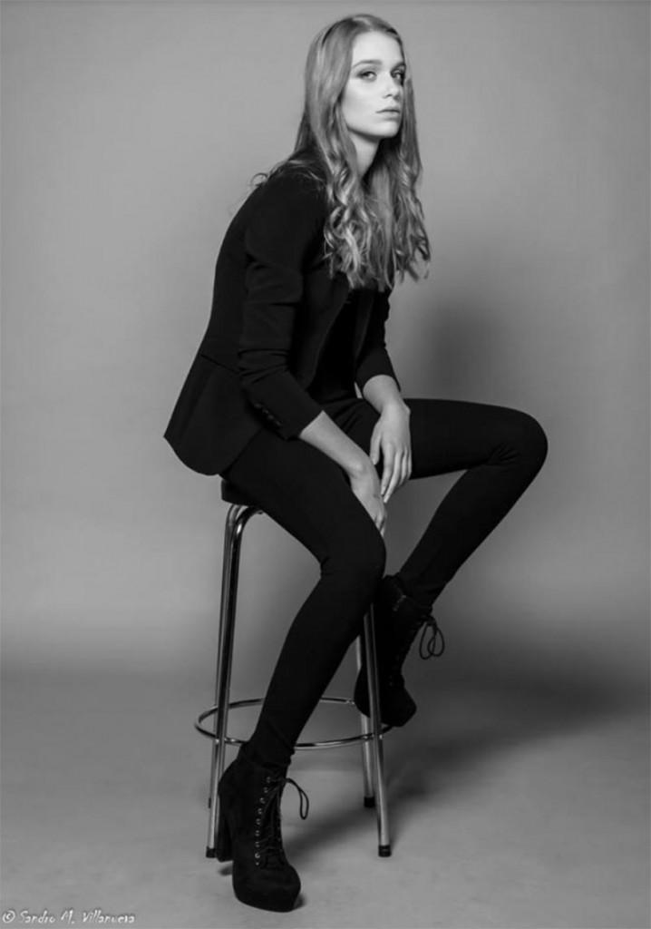 фото - начинающая модель Мелани Нордер