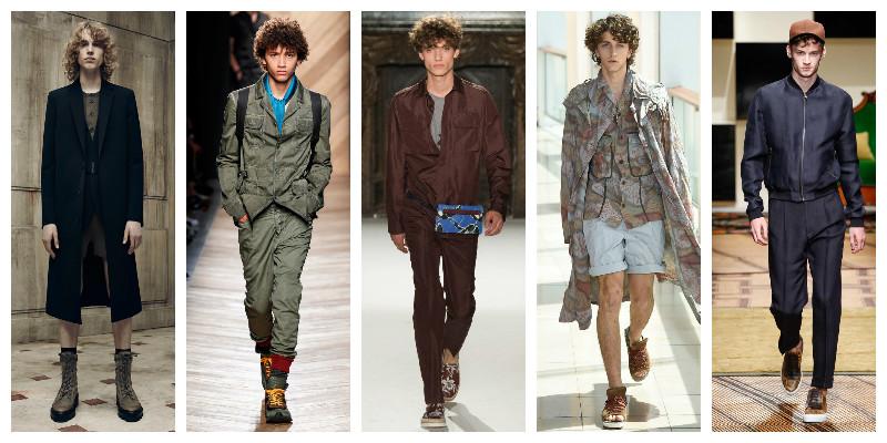 фото - фактурные кудри в моде весной-летом 2016