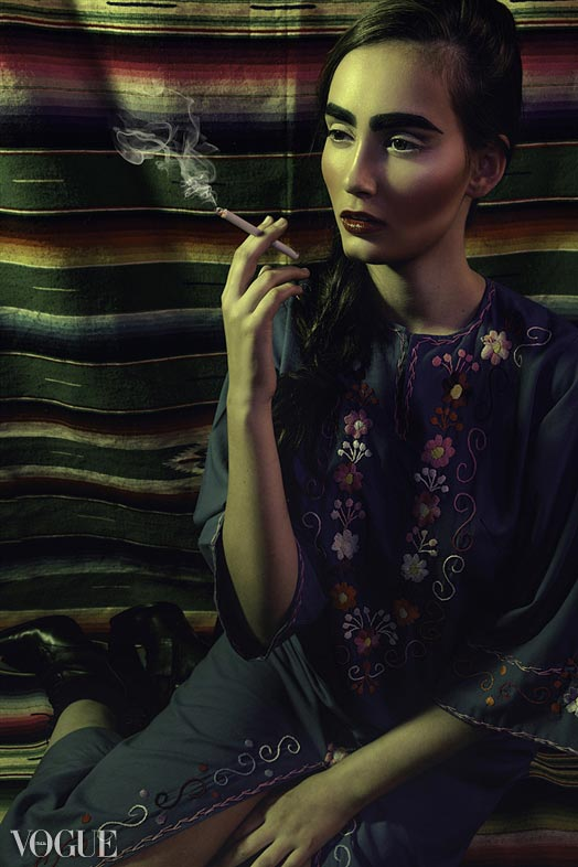 Фото - Кэссиди для Vogue