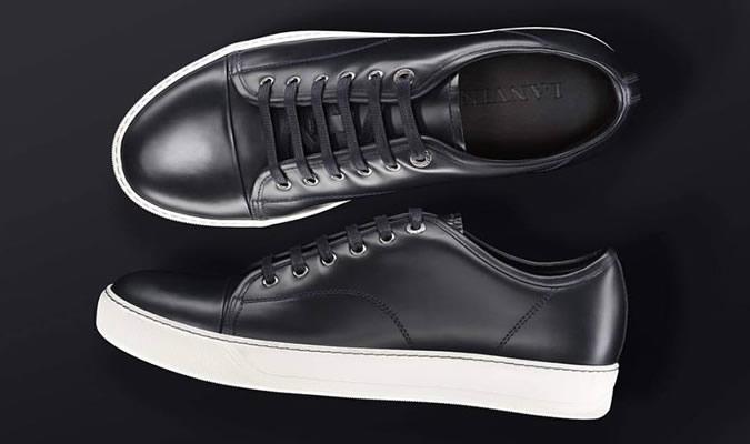 63071ef4a85b фото - модные мужские черные кеды от LANVIN. LANVIN. фото - мужские  кроссовки Alexander McQueen