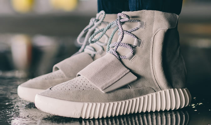 фото - мужские кроссовки-ботинки YEEZY BOOST 750