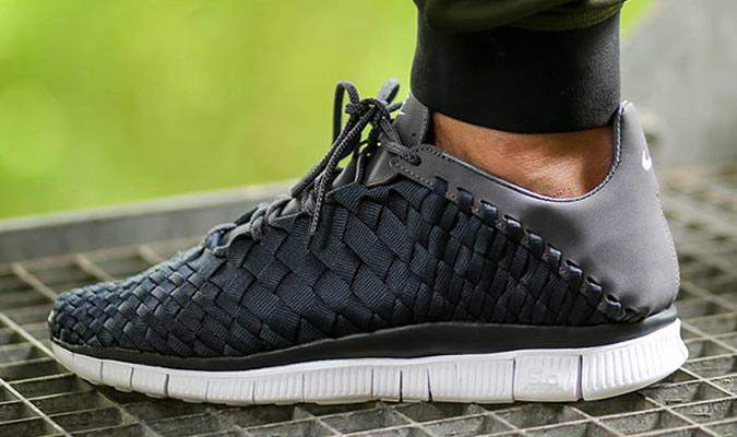фото - плетенные мужские кроссовки NIKE FREE INNEVA
