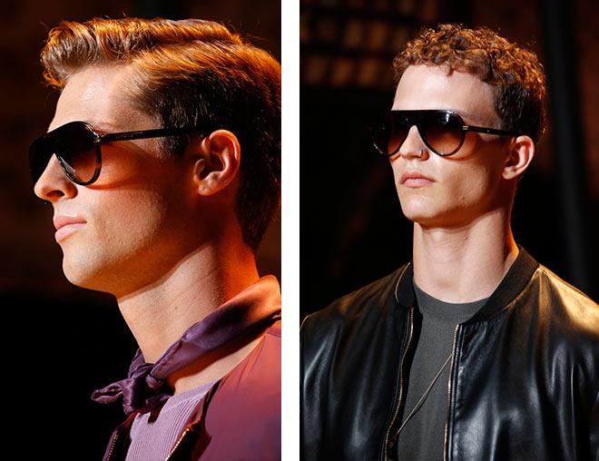 фото - мужские D-образные очки для мужчин на весну-лето 2016