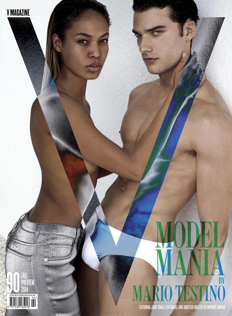 фото - Орельен Мюллер на обложке V Magazine