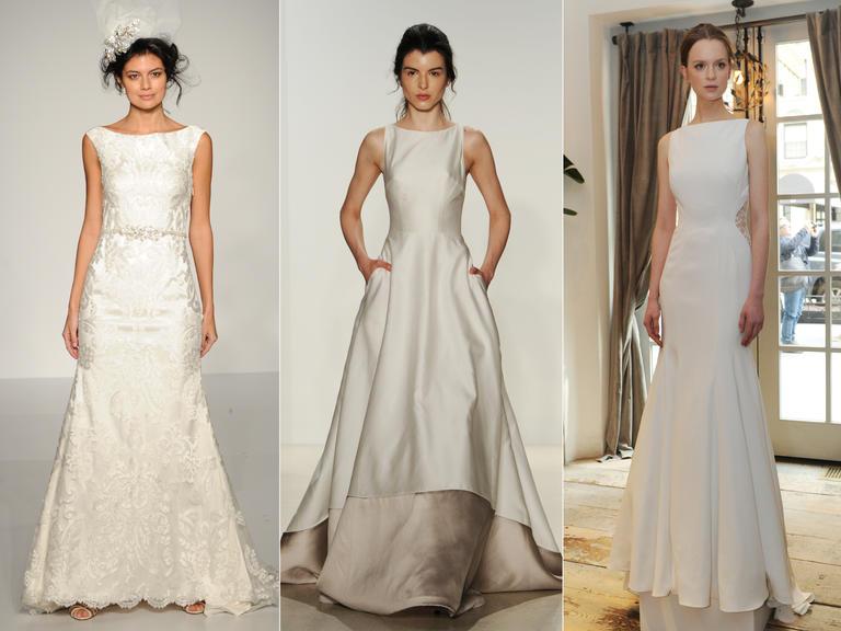 фото - свадебная мода тренды платья 2016