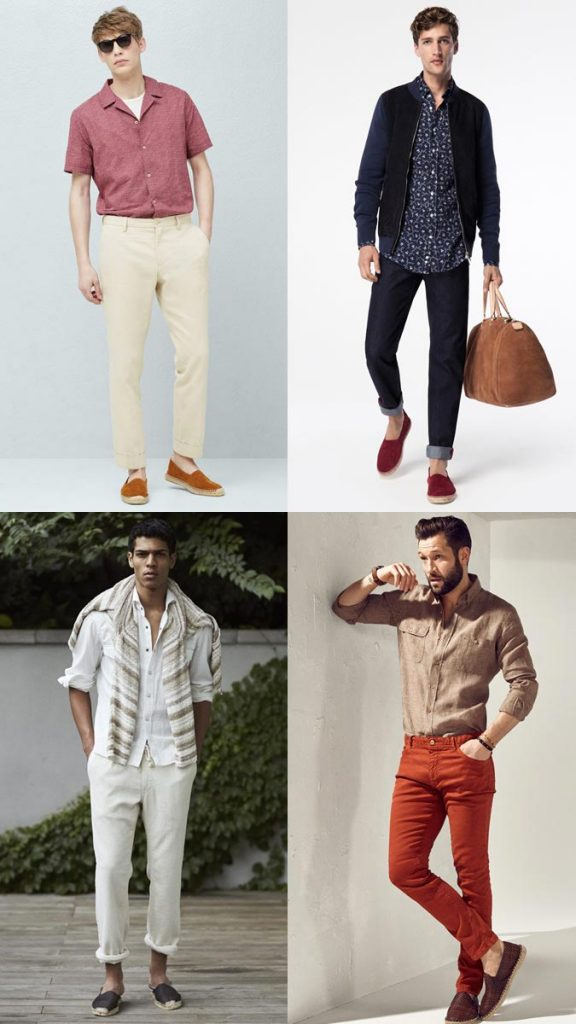 фото - мужские эспадрильи в моде летом 2016
