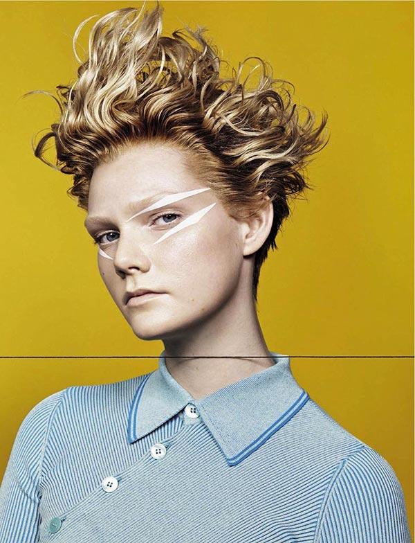фото - Марланд Бакс на страницах Vogue Италия 2016