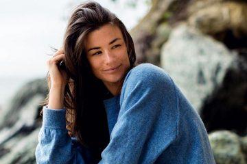 фото - американская модель Одри Чихоки