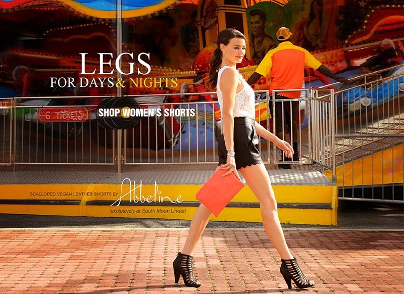 фото - длинноногая модель Одри Чихоки