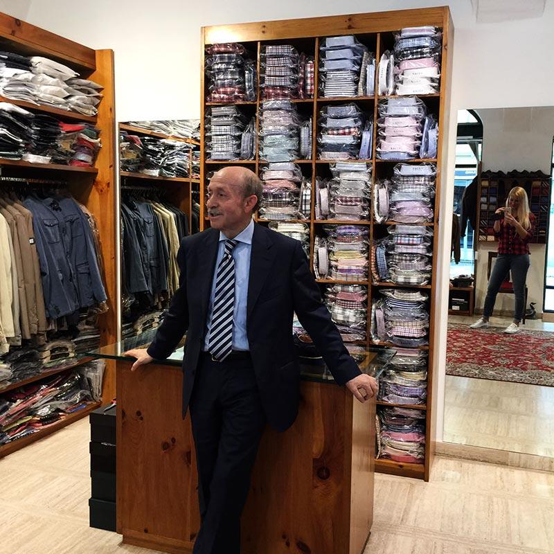 фото - магазин модной одежды в Италии