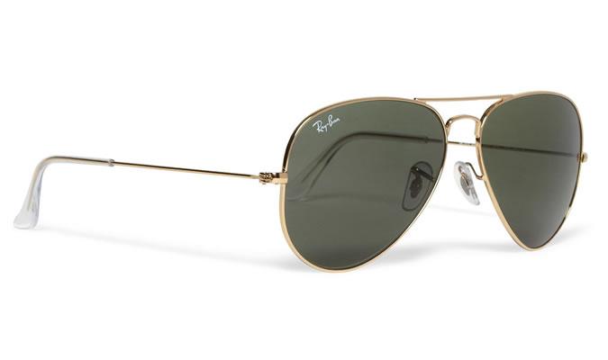 фото - авиаторы солнцезащитные мужские очки Ray Ban
