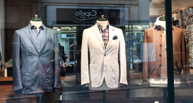 фото - итальянский магазин мужской одежды Minasi
