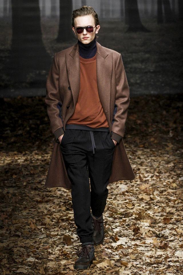 """фото - оттенок """"коричневая охра"""" в мужской моде 2016-2017"""