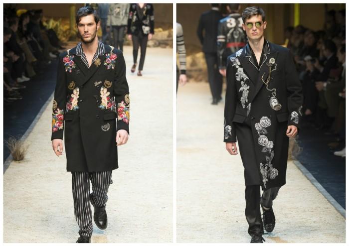 фото - мужские пальто от Dolche & Gabbana