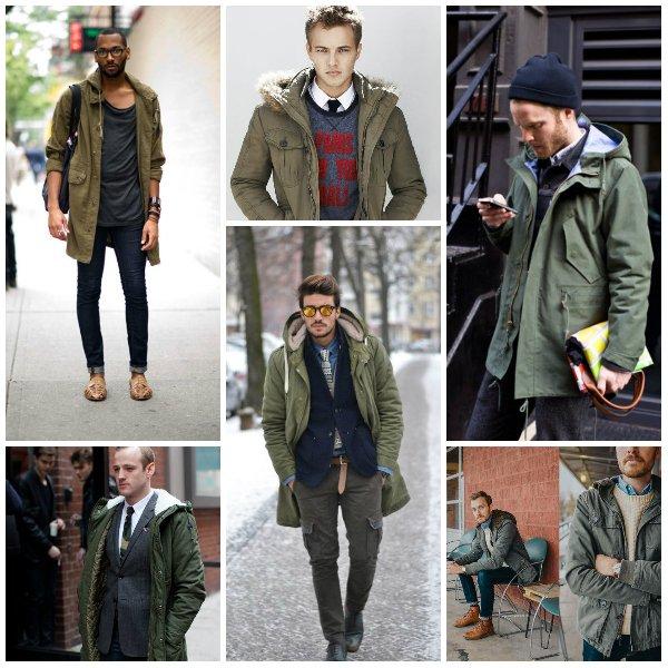 """фото - мужчины в куртке """"парка"""""""