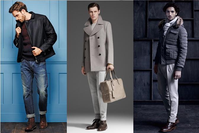фото - туманно лиловый оттенок в мужской одежде 2016-2017