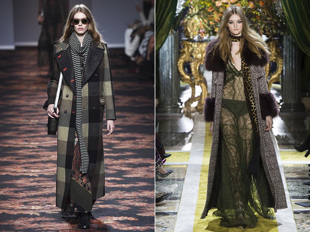 Фото - пальто в пол снова в тренде осенью 2016