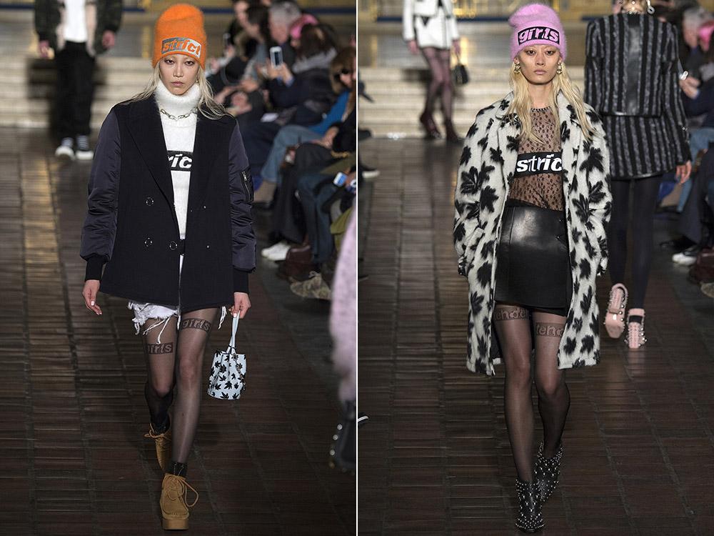 фото - женские пальто в стиле гранж