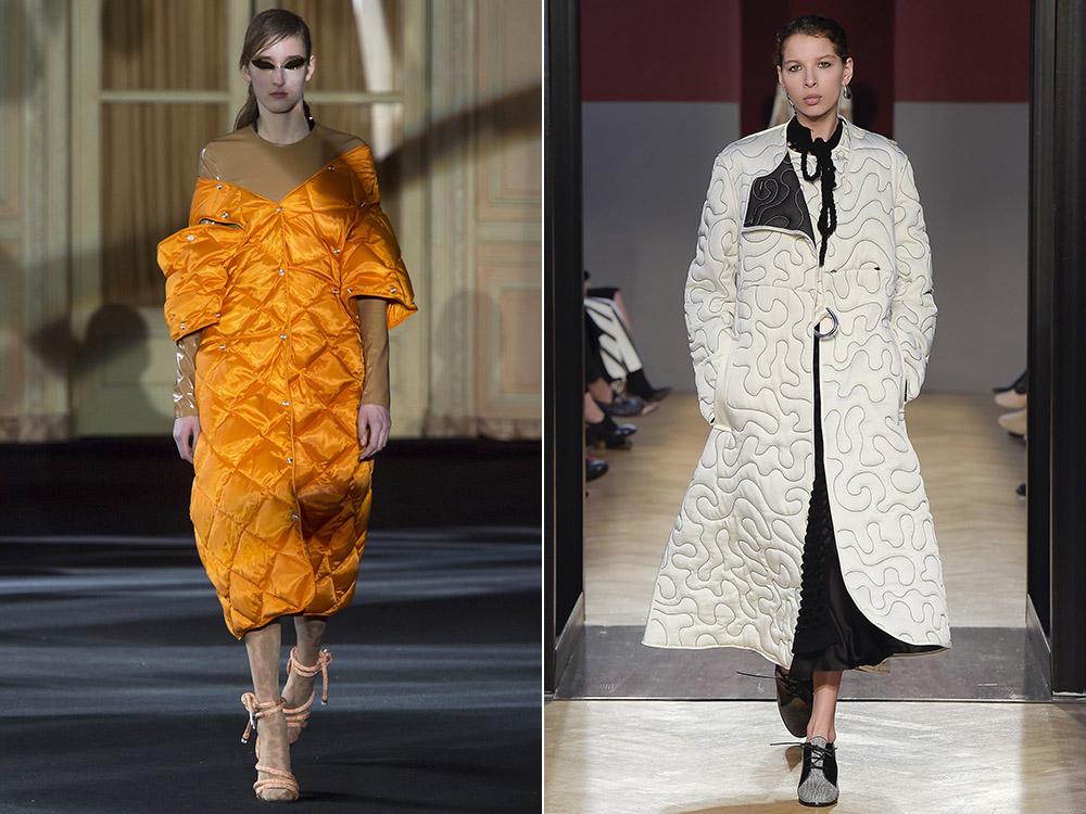 фото - стеганые пальто хорошая замена дорогим шубам зимой 2016-2017