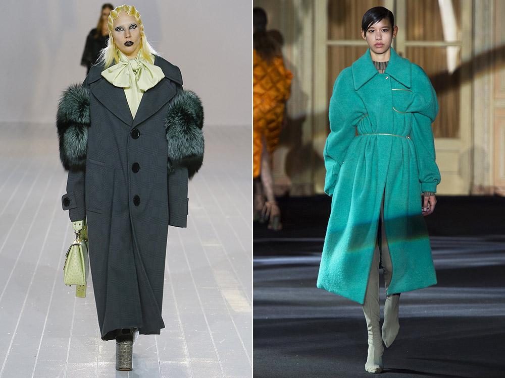 c46660c80a0 ... фото - габаритные женские пальто в моде осень-зима 2016-2017