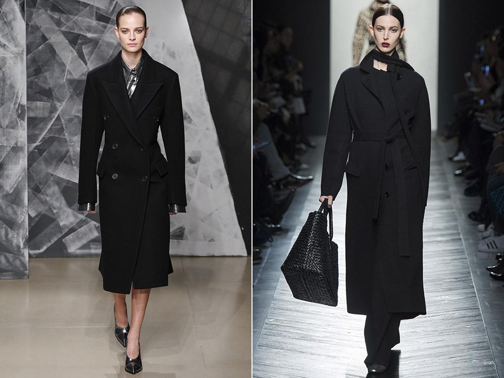 фото - пальто в классическом стиле в моде осень-зима 2016-2017