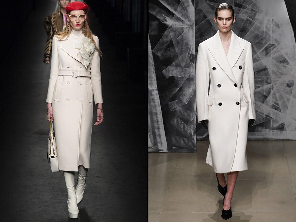 фото - классические пальто для женщин с длиной по щиколотку