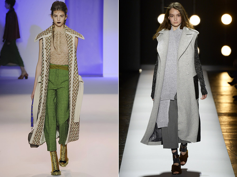 фото - женские пальто без рукавов будут в моде осень-зима 2016-2017