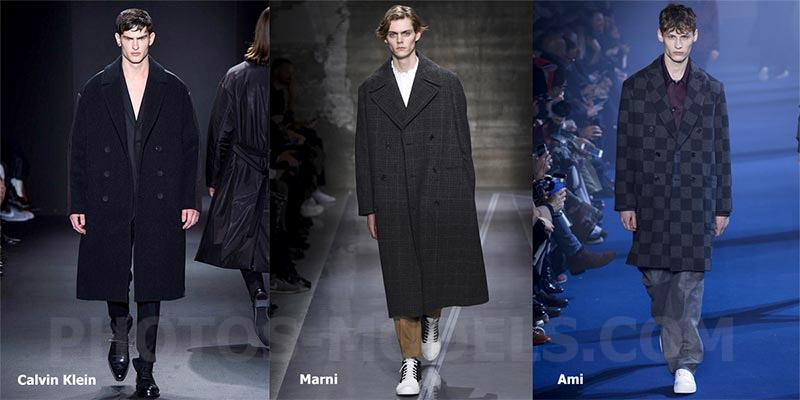фото - мужские бушлаты в стиле оверсайз в моде осенью-зимой 2016-2017