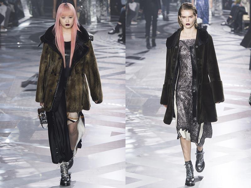 фото - шубы из искусственного меха коллекция Louis Vuitton осень-зима 2016-2017