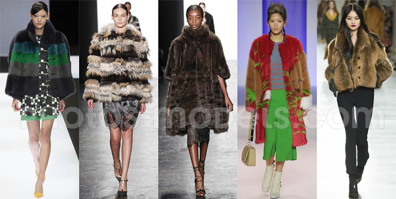 фото - Зимой и осенью 2016-2017 года в моде шубы самого разнообразного кроя