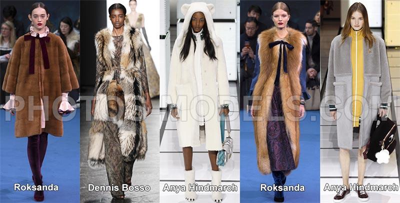 Модный мех осень-зима 2016-2017 – цвет, текстура фото