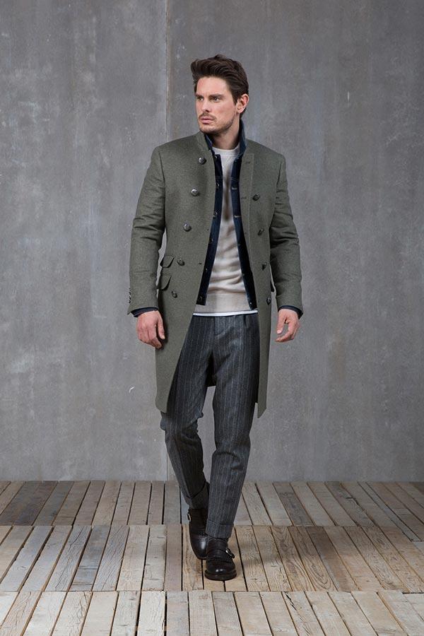 фото - джинсовка с пальто
